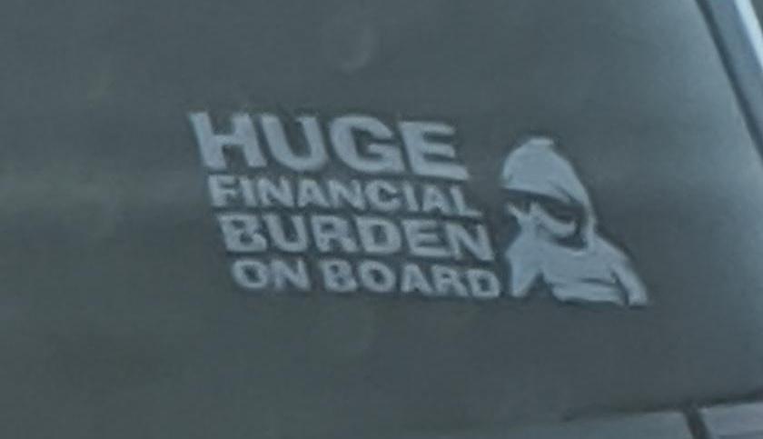 """Enorme carga financiera a bordo"""