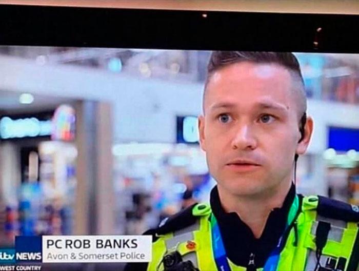 Y el policía con el mejor nombre del año es...