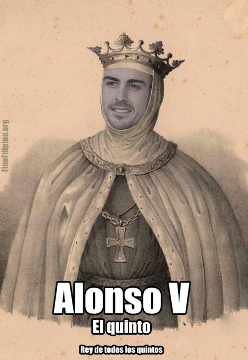 Vuelve Alonso Quinto, y con todas las papeletas para optar a su posición preferida