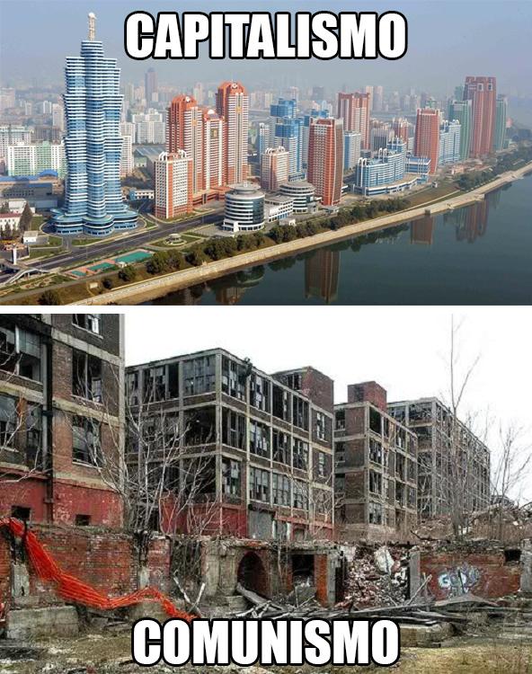 Capitalismo vs comunismo