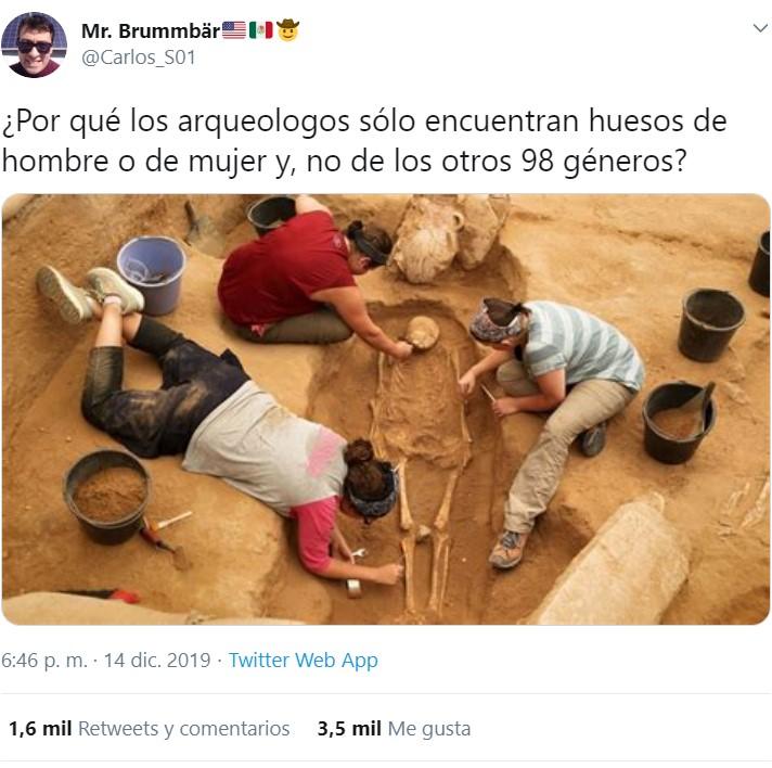 Los arqueólogos son hijos del patriarcado