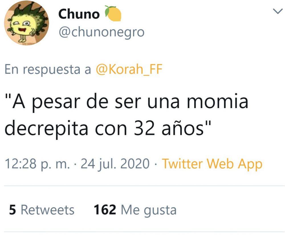 """""""A sus 32 años"""""""