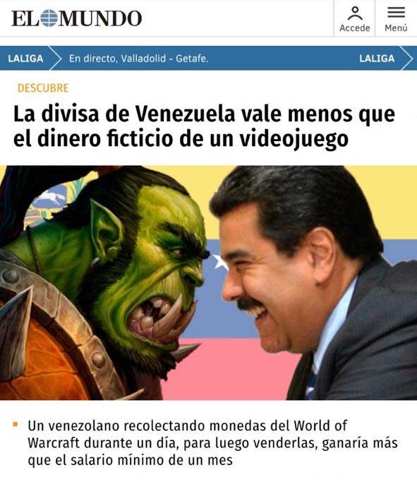 La política económica de Maduro y el mundo de los videojuegos tienen algo en común: El LOL