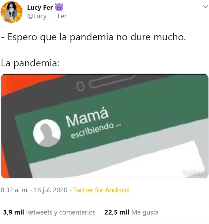 """""""Espero que la pandemia no dure mucho"""" Parte 2"""