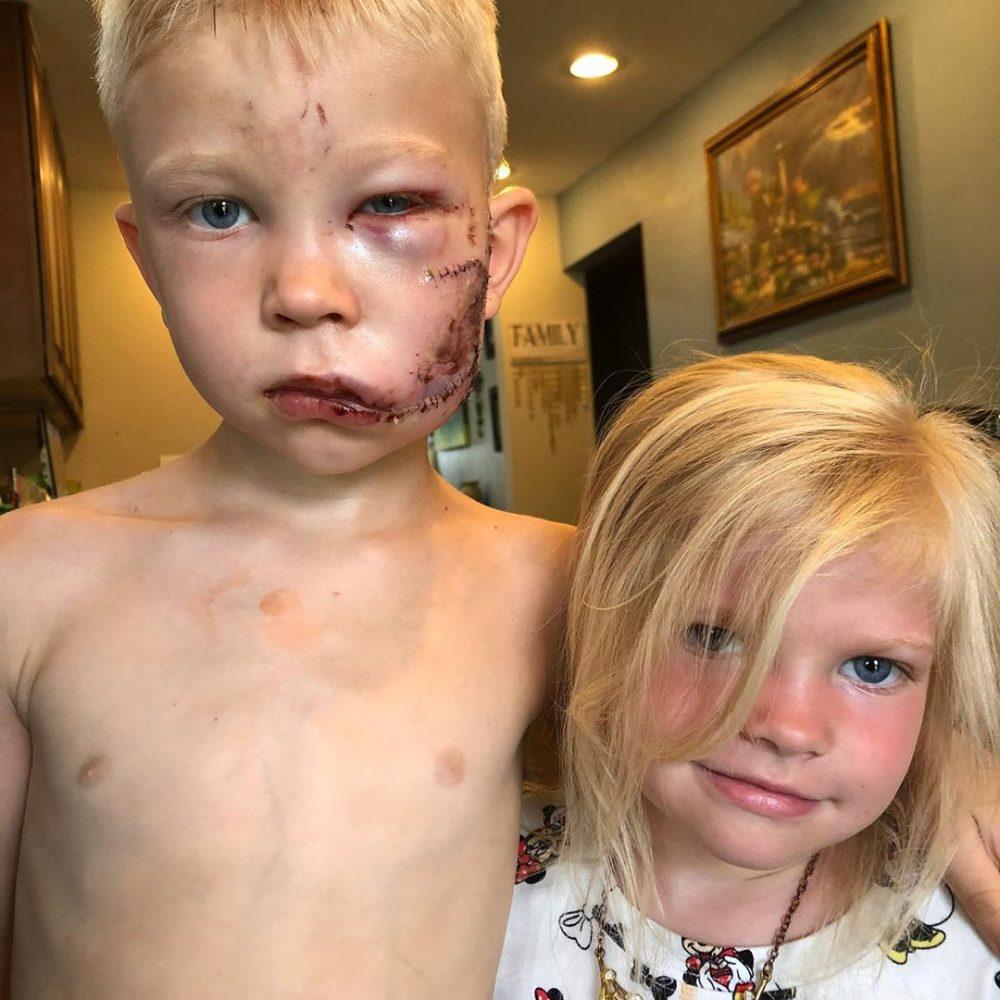 Este minicrack dio la cara por su hermana, literalmente