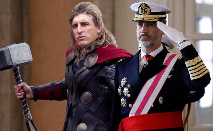 Felipe VI y su padre, el Rey ÉmeryThor
