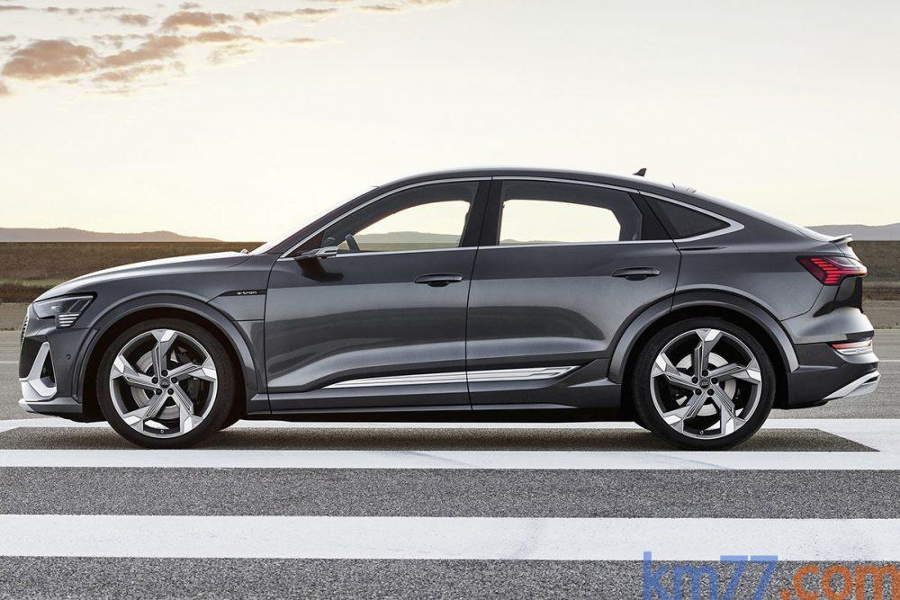 ¿El Audi E-tron es un SUV bajo o una berlina alta?