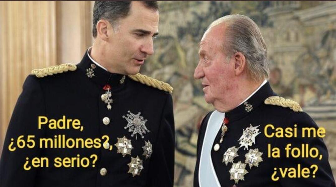 El Rey... ¿de los pagafantas?