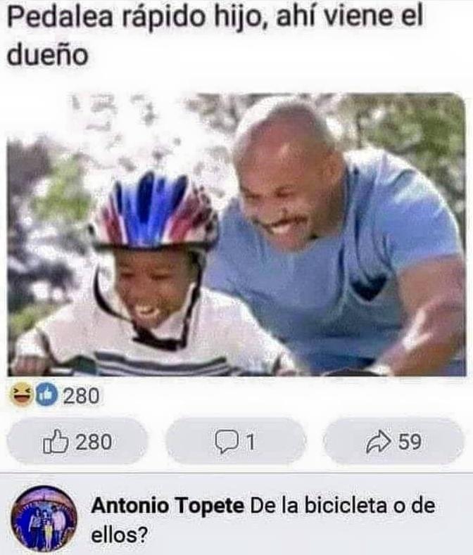 Antonio Topete se ha pasado el juego del humor negro
