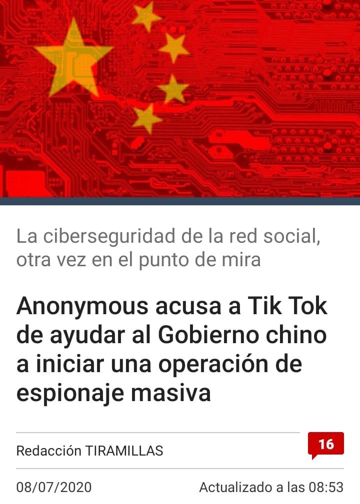 Los jaquers están buscando una excusa para cerrar Tiktok