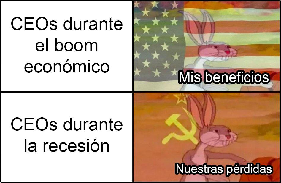 El capitalismo le hace ojitos al comunismo cuando las cosas se ponen feas