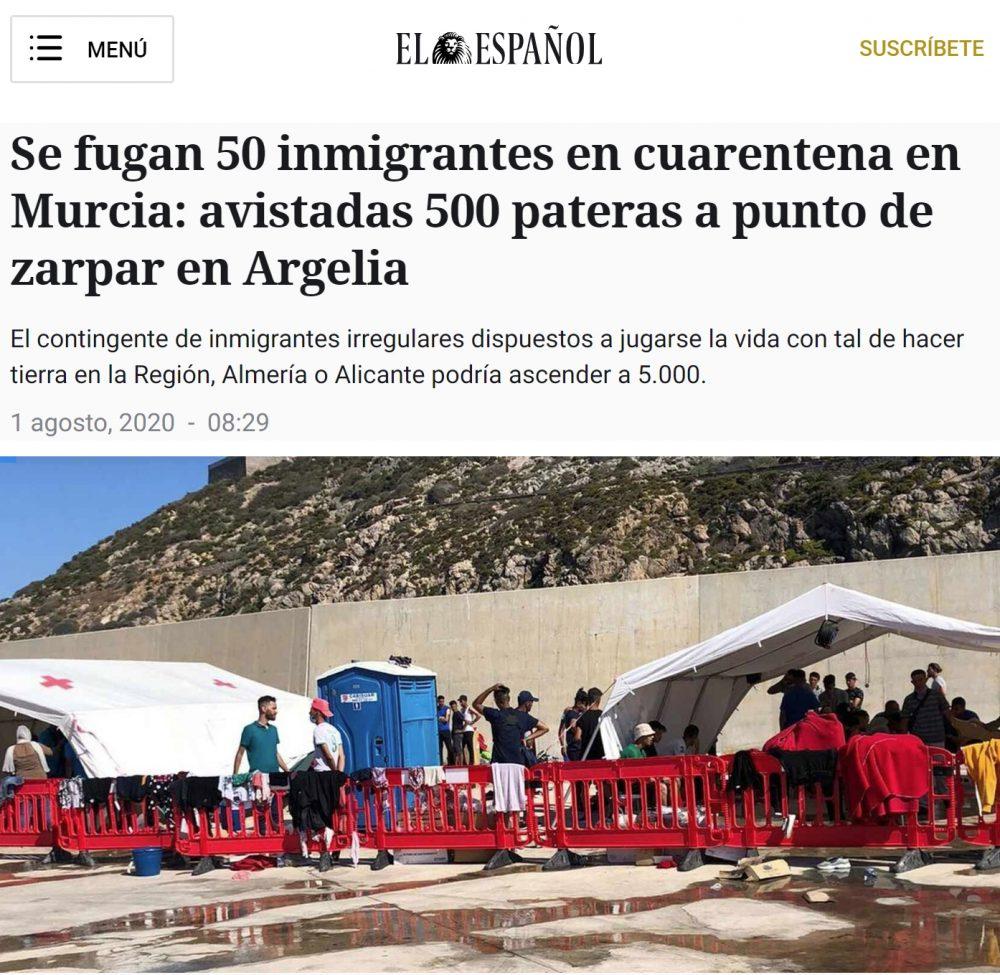 500 pateras preparadas para zarpar rumbo a España