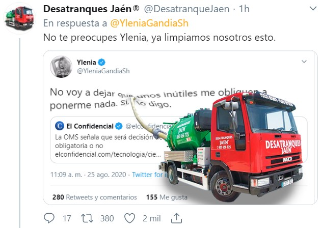 Desatranques Jaén for pressident