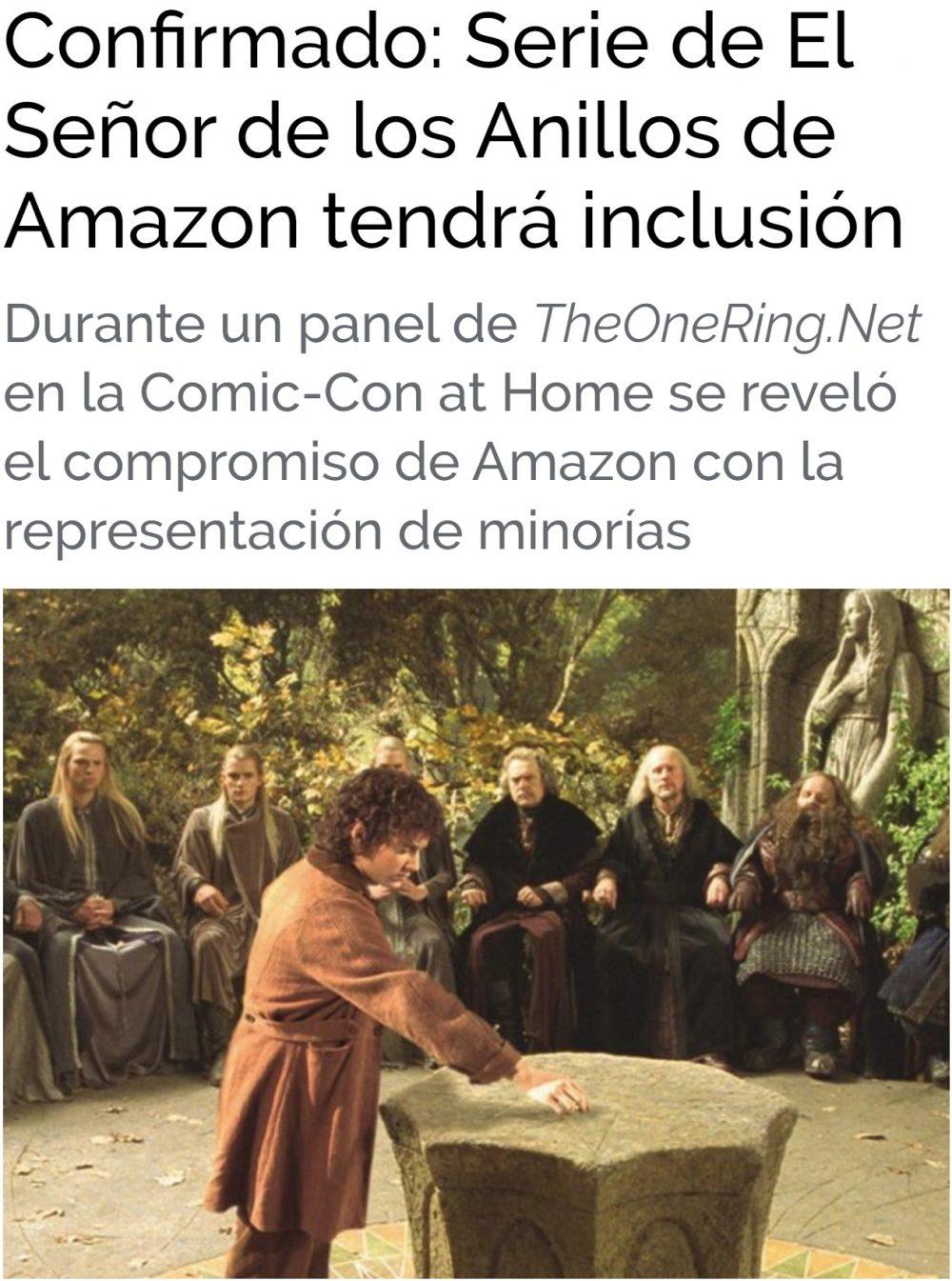 Se viene La Señora de las anillas