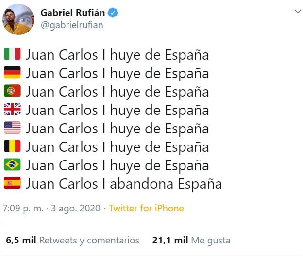 """""""Juancar... Coge tus milloncillos, y vete"""""""