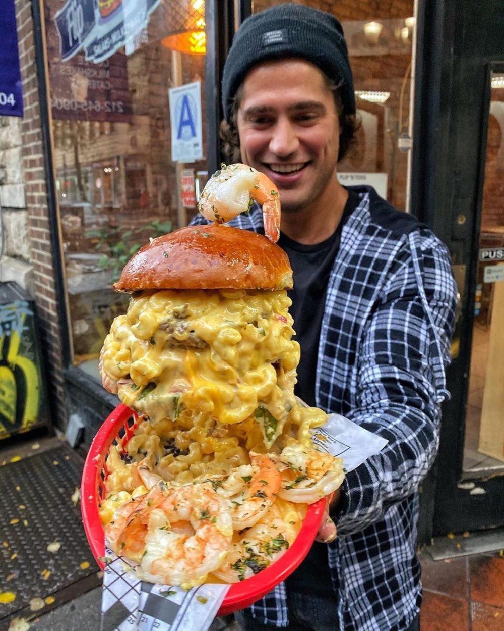 El Final Boss de las hamburguesas incomibles