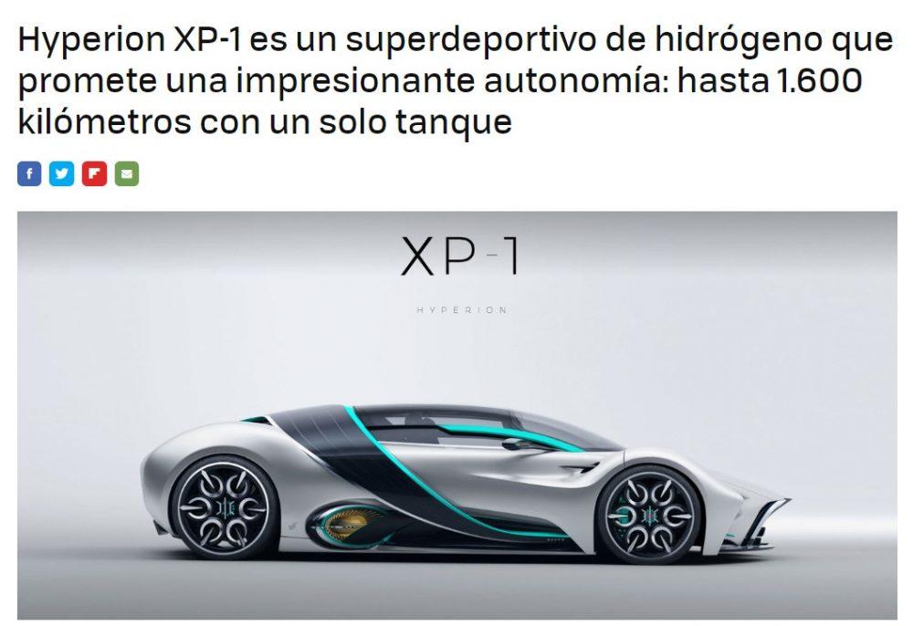 """Sería cojonudo que después de que todo el mundo tenga coche a batería, nos digan """"¡el futuro es el hidrógeno, el litio contamina!"""""""
