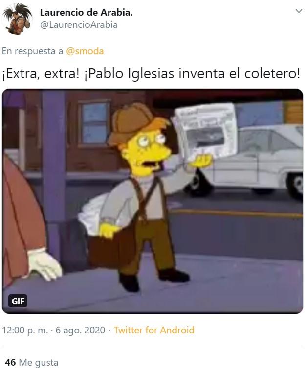 Pablo Iglesias inventa el moño