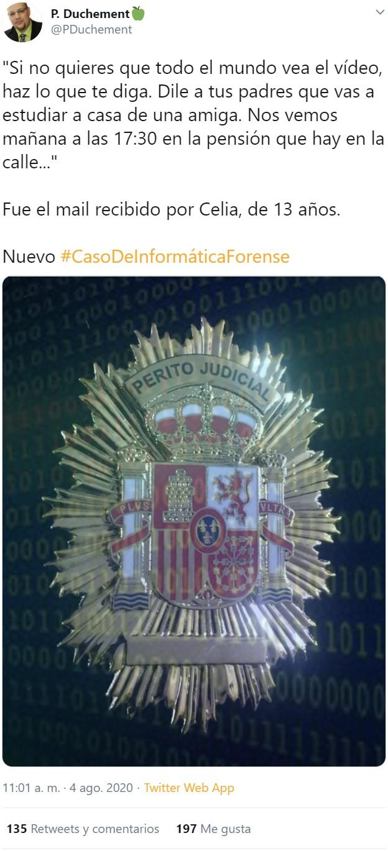 Otro caso resuelto de CSI informático con final inesperado