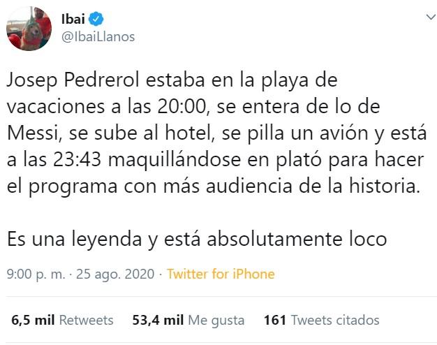 #AD10S Messi se va del Barça, y la liga española podría quedarse sin ninguno de los dos megacracks