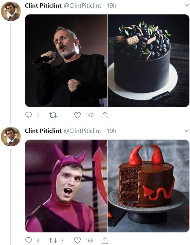 Galería de tartas que se parecen a Miguel Bosé