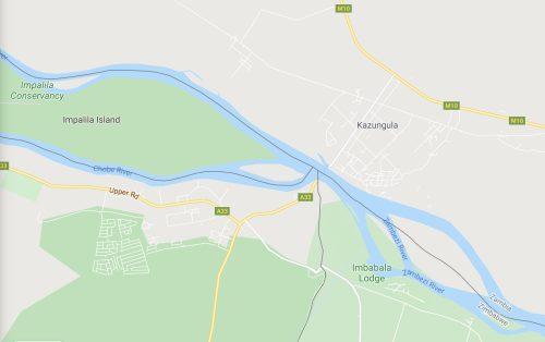La curiosa situación geográfica de Namibia y Zimbabue