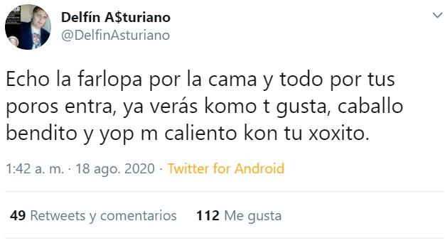 Delfín Asturiano se nos ha enamorao