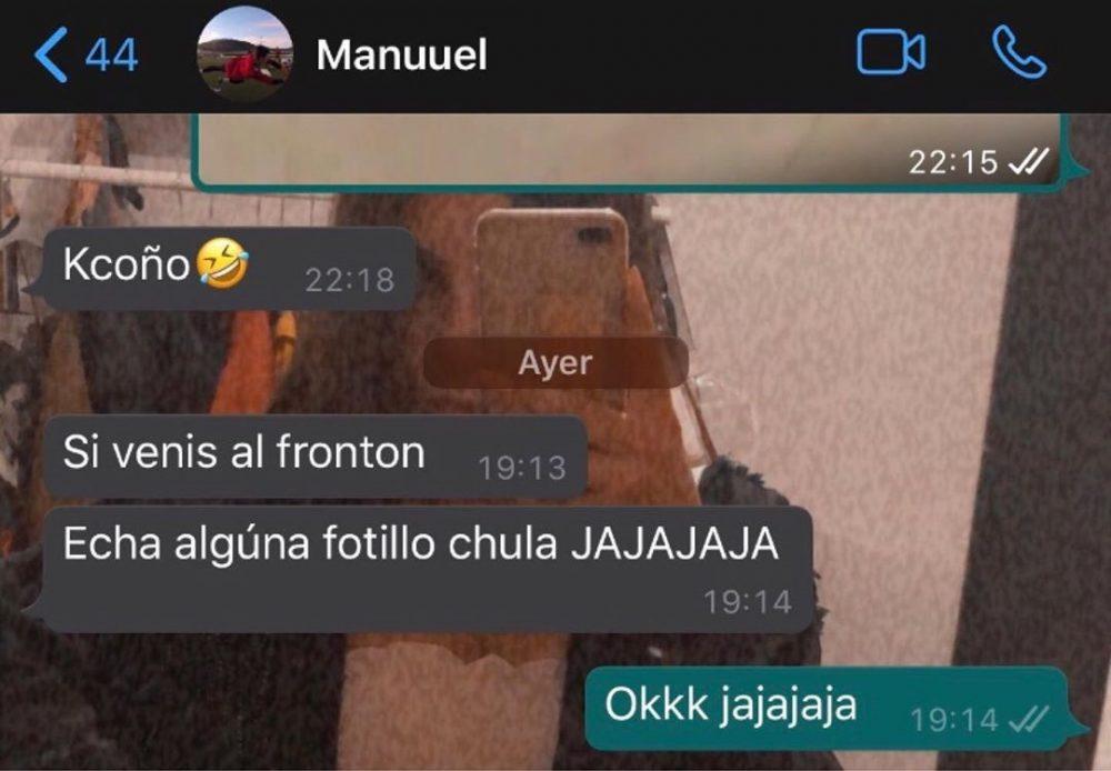 """""""Echa alguna fotillo chula"""""""