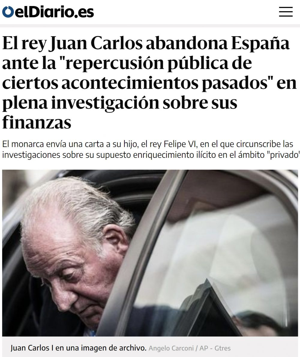 Juan Carlos de Borbón: