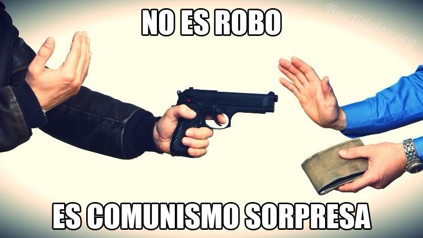 No es robo...