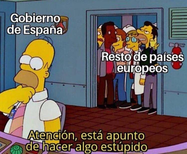 España a la vanguardia del avance