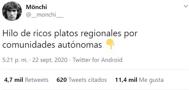 ¿Te ríeh de los valencianos y su talibanismo con las paellas? Pues llega el HILO DE PLATOS TÍPICOS PARA OFENDERLOS A TODOS