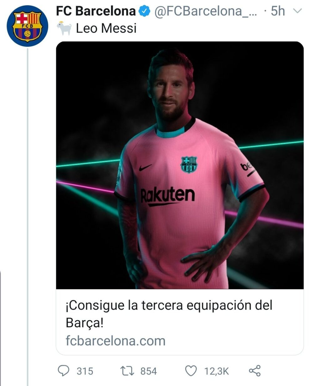 Hide the pain Messi