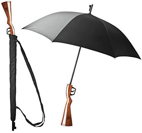 El paraguas ideal para ir al aeropuerto, o al banco...