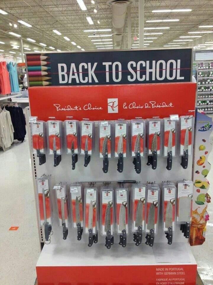 Por fin un supermercado que piensa en los padres para la vuelta al cole...