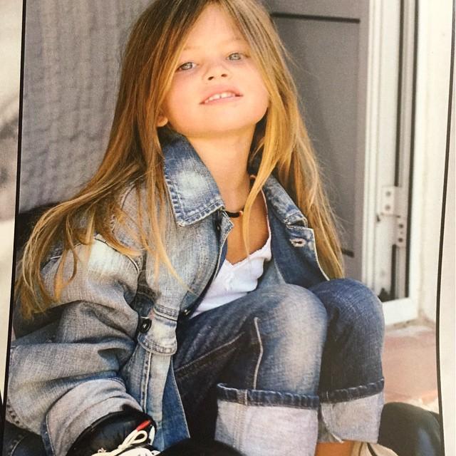Así es hoy en día Thylane Blondeau (19 años), nombrada niña más guapa del mundo cuando tenía 4 años