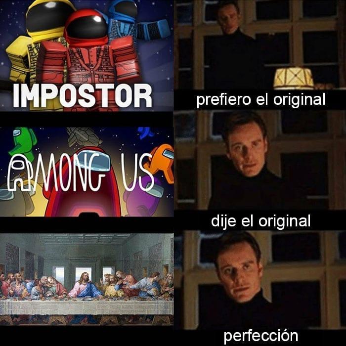 Nada como el juego original con un solo impostor