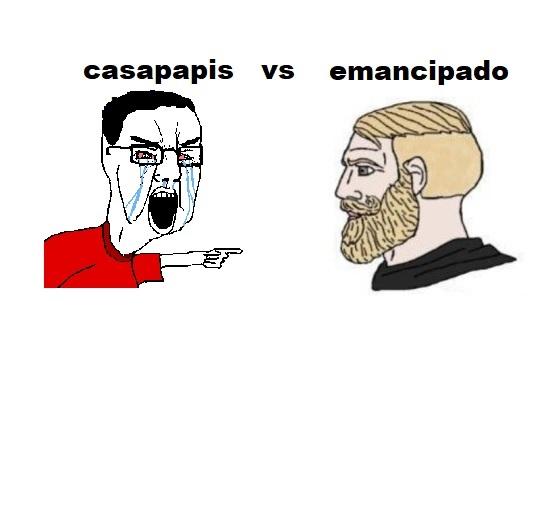Casapapis vs Emancipados: FIGHT