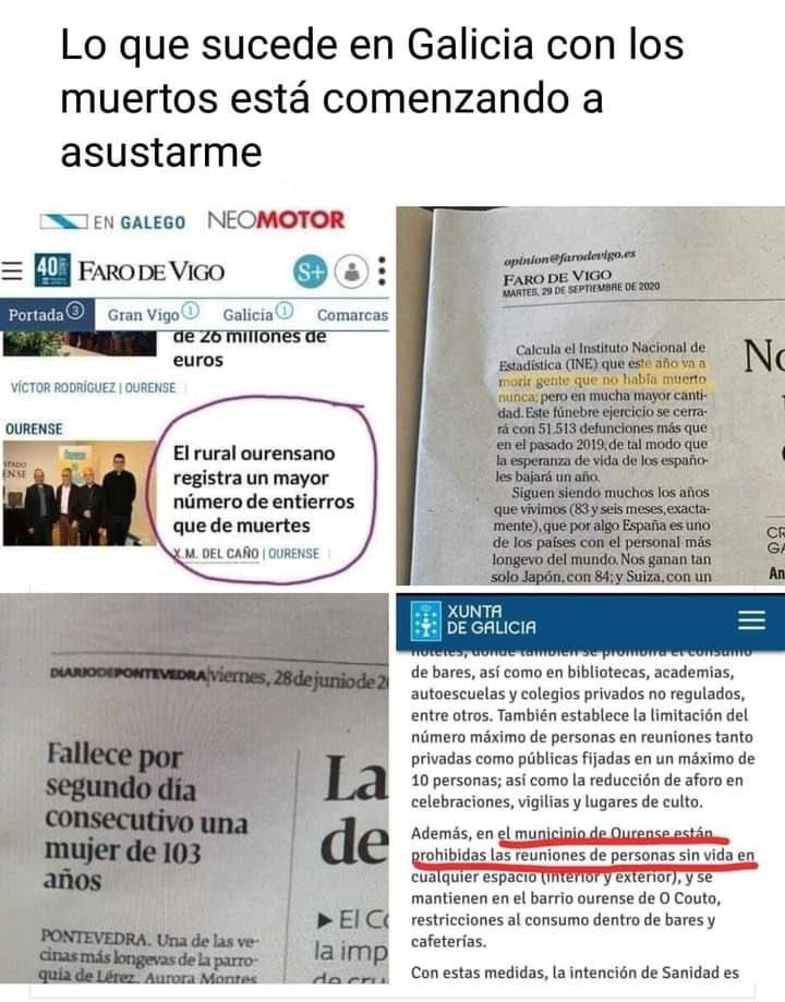 Lo que sucede en Galicia con los muertos está empezando a asustarme...