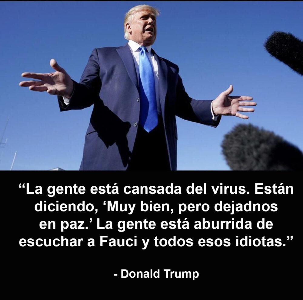 """Trump arremete contra el """"Fernando Simón"""" de su gobierno: Anthony Fauci"""