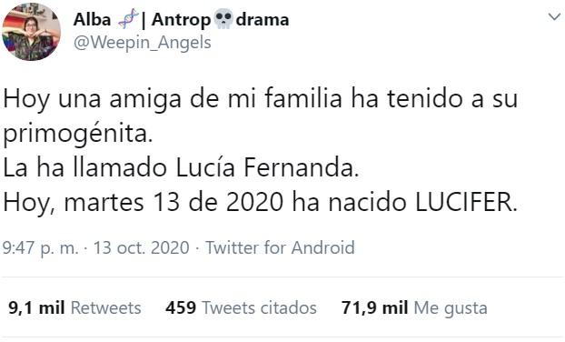 Lucía Fernanda 23 días al mes, los 7 restantes es...