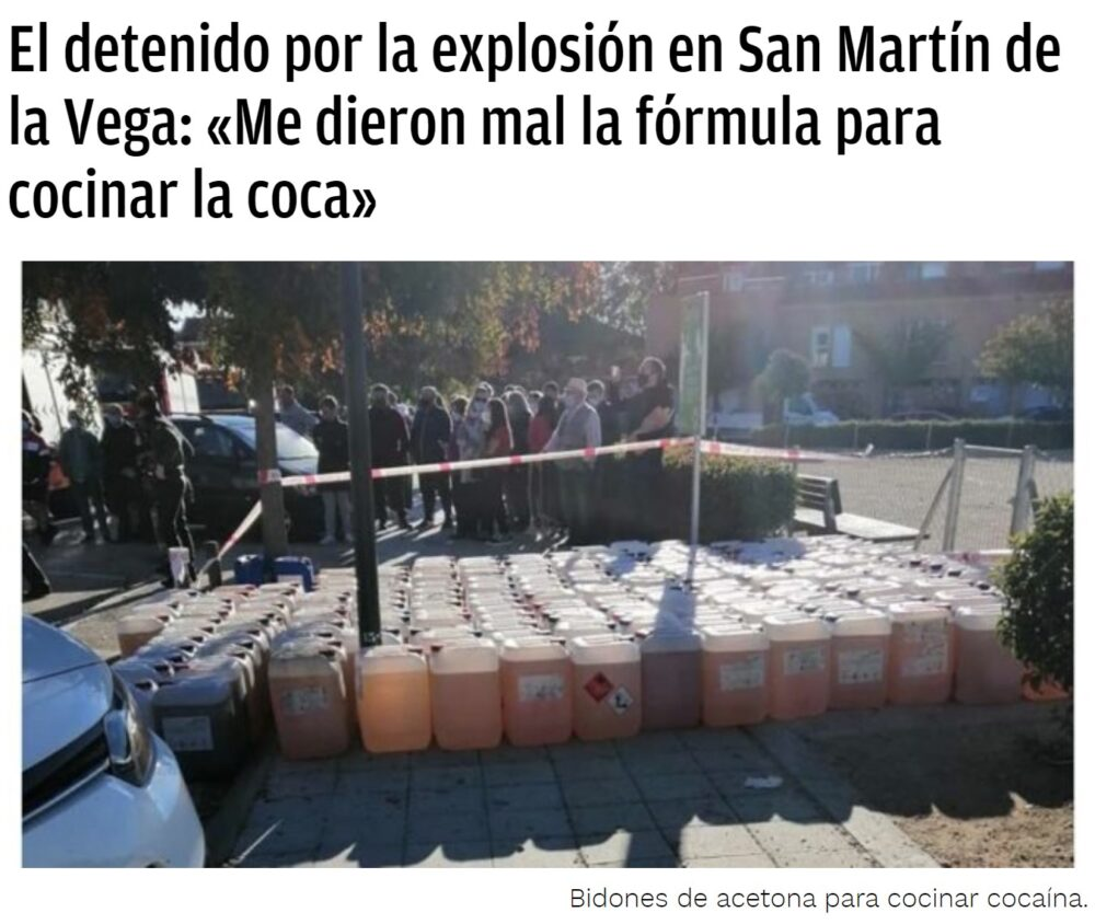 Breaking Bad made in San Martín de la Vega