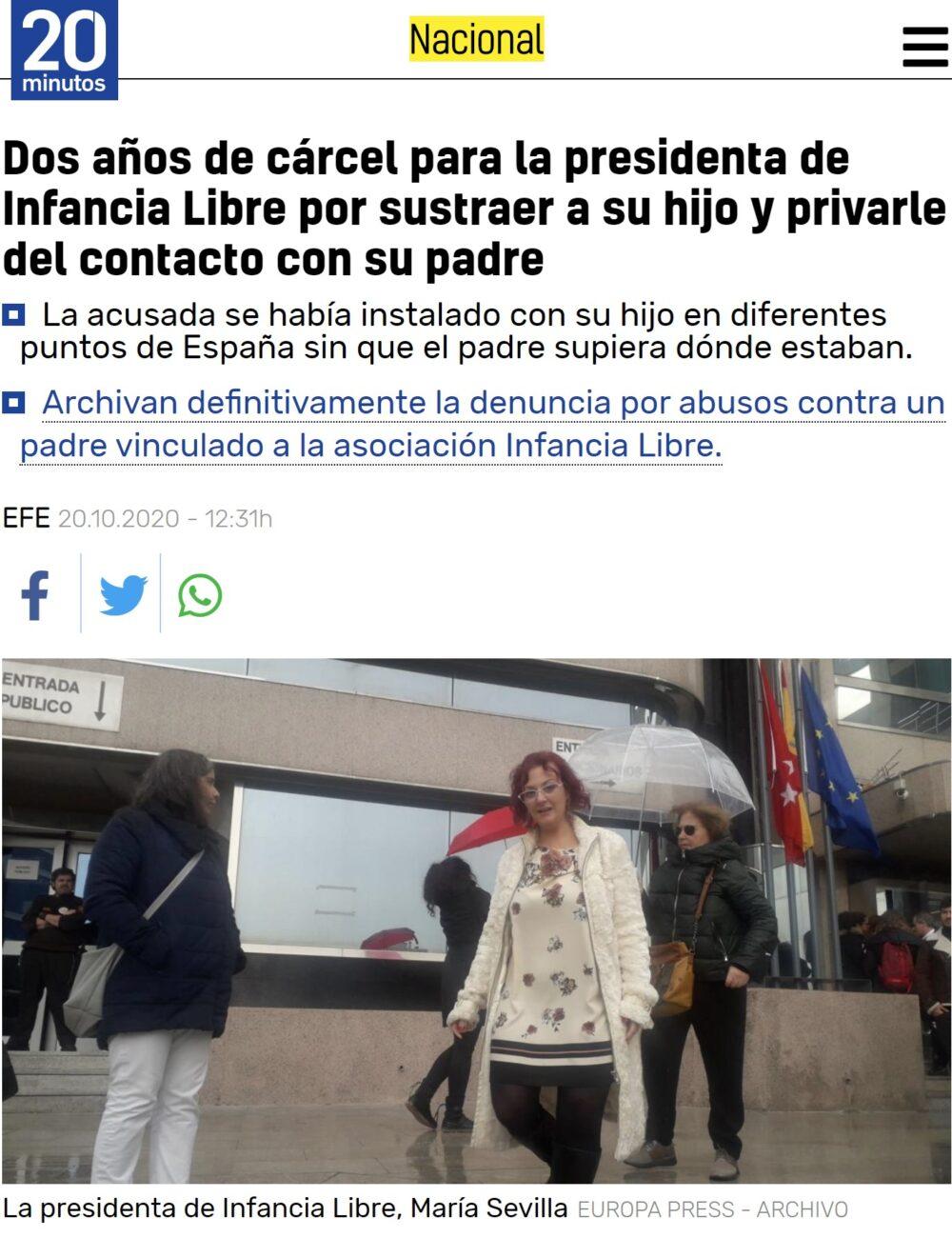 """Qué irónico lo de """"Infancia Libre"""""""