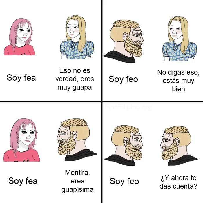 """""""Soy fea"""""""