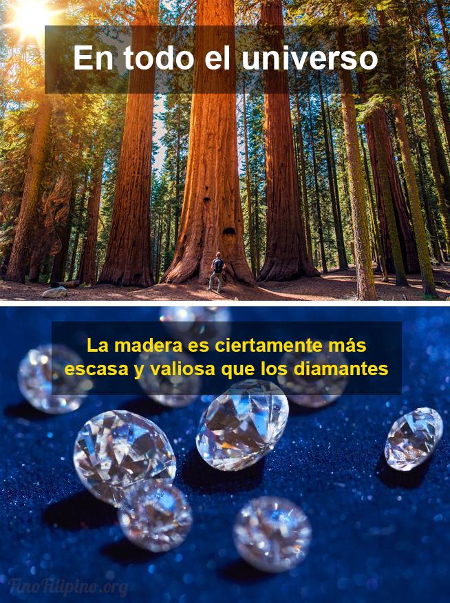Por curioso que le pueda parecer a más de uno, el universo está plagado de diamantes y oro