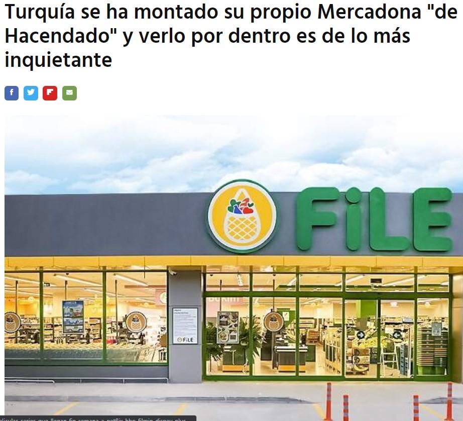 """El Mercadona """"de Hacendado"""""""