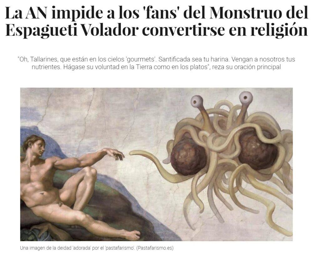"""La Audiencia Nacional acaba de decir """"tu religión no, la mía sí"""""""
