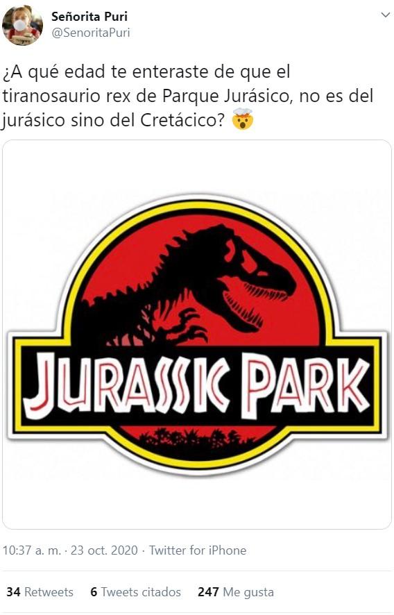 """""""Parque Cretácico"""" quedaba regu"""