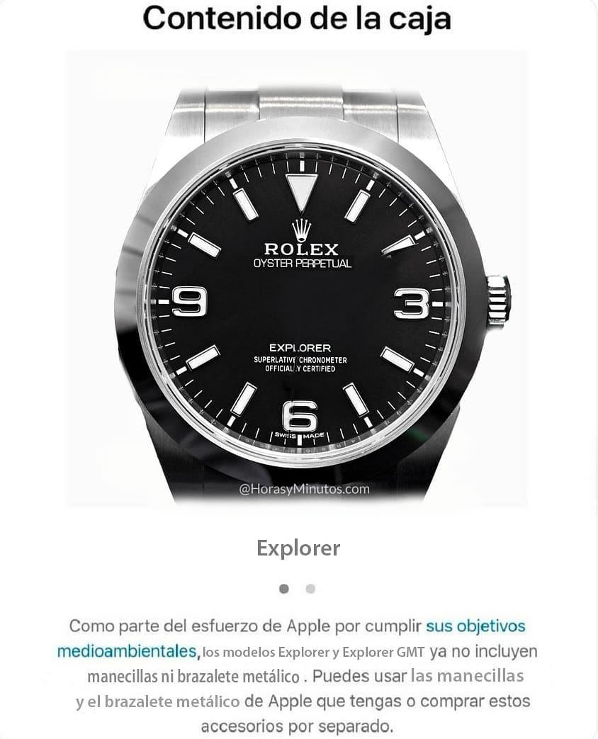 Si Apple vendiese relojes