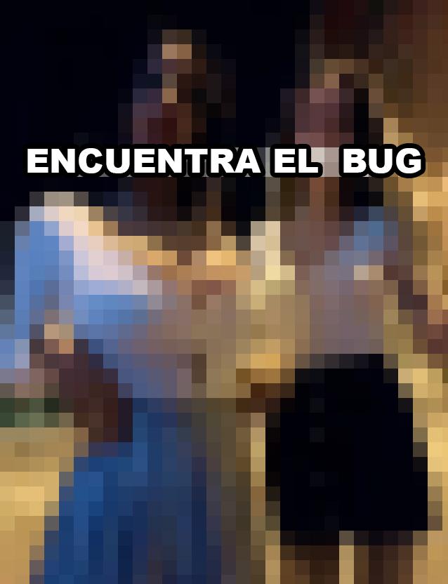 Encuentra el bug